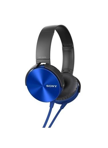 Xb450Ap Kablolu Kulaküstü Kulaklık Mavi-Sony